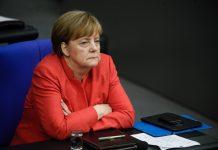 Ангела Меркел, домино