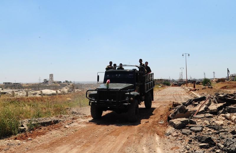 Сирия, въздушни удари