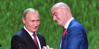 Джани Инфантино, Владимир Путин
