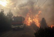 пожар в Гърция