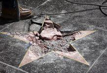 звезда, алея на славата, Тръмп