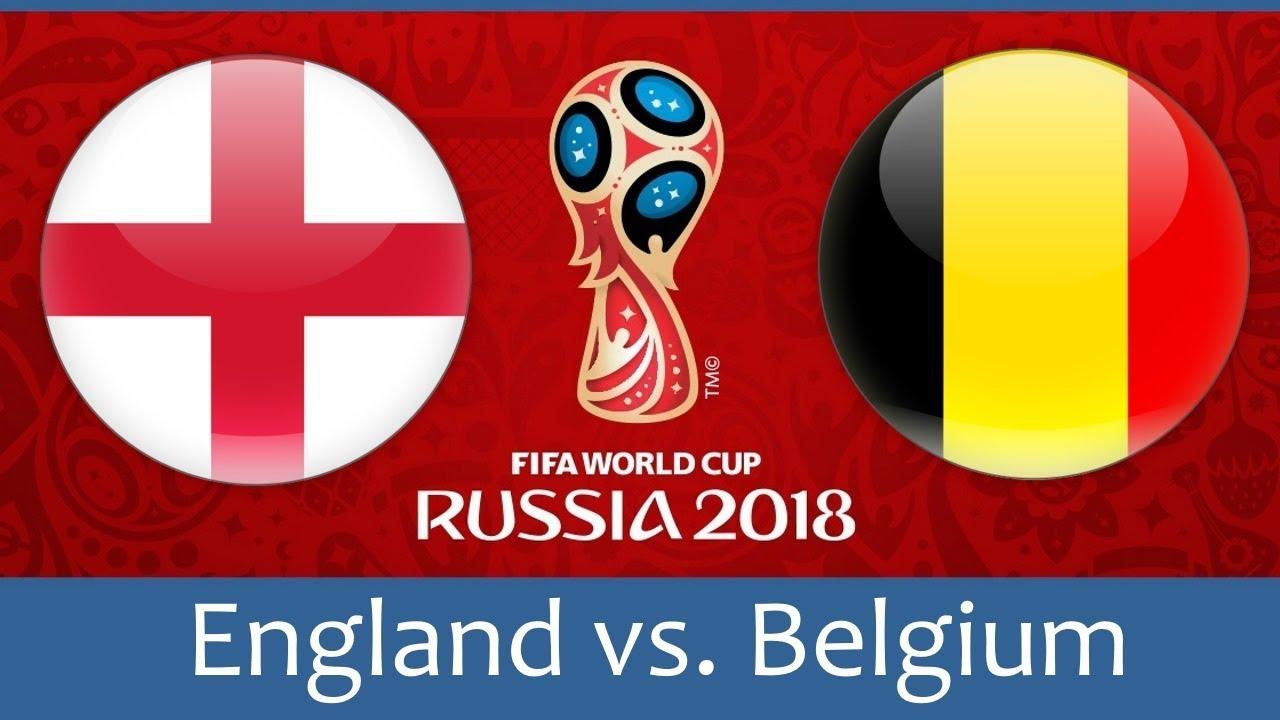 Англия, Белгия, Мондиал, световно по футбол, Русия