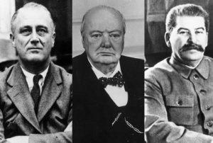 Рузвелт, Хитлер, Чърчил, Сталин