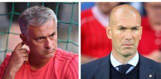 Все по-близо изглежда назначаването на Зинедин Зидан за треньор на Манчестър Юнайтед на мястото на Моуриньо, особено след поредния п