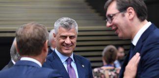 Хашим Тачи, Александър Вучич, Косово, Сърбия