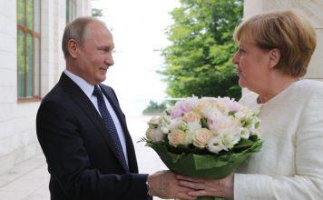 Владимир Путин, Ангела Меркел