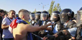 румънци, протест, правителство, Румъния