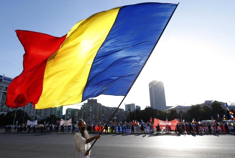 Румъния, протести