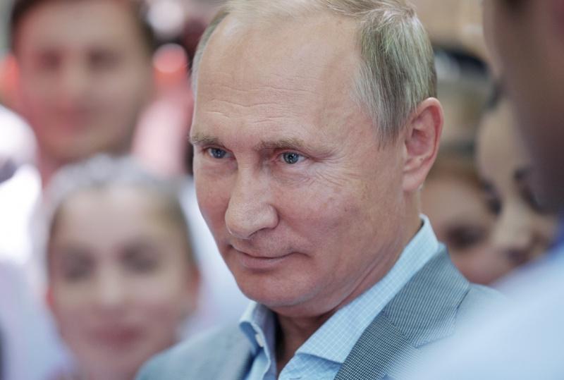 Владимир Путин, сватбата