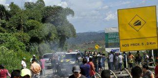 Бразилия, Венецуела, бежанци
