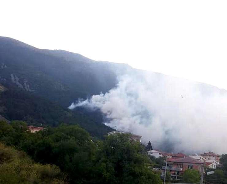 Карлово, пожар, огън