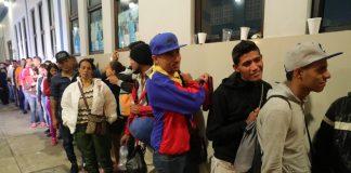 Венецуела, бежанци