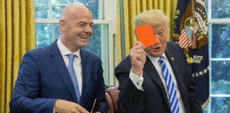 Тръмп, червен картон