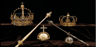 Swedish royal crown