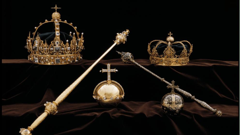 Swedish royal crown