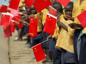 Китай, Африка