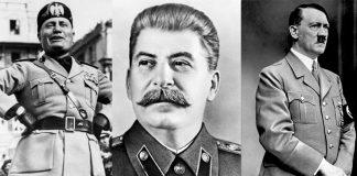 Мусолини, Сталин, Хитлер, Тито