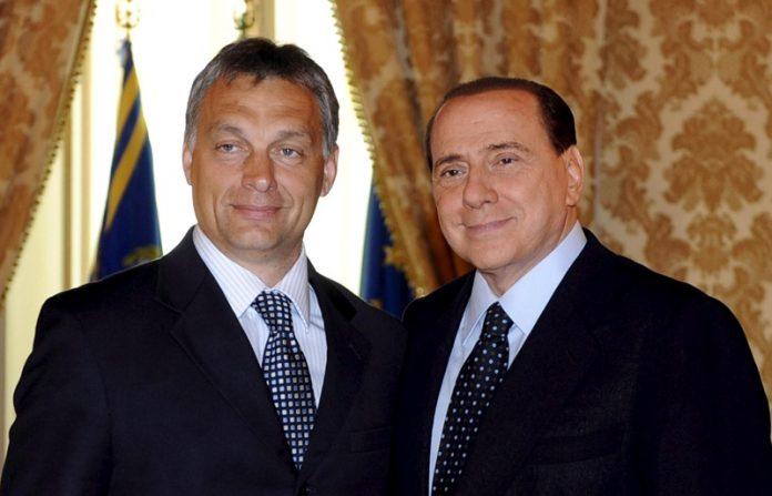 Виктор Орбан, Силвио Берлускони