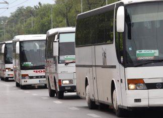колани, автобуси