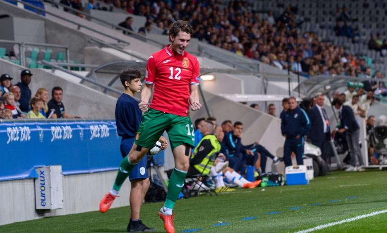 Божидар Краев се превърна в герой за България при победа над Словения