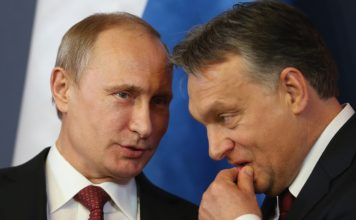 Путин, Орбан