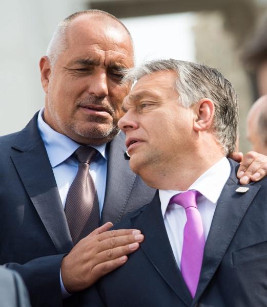 Борисов, Орбан, Унгария