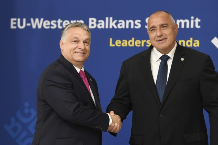 Виктор Орбан, Бойко Борисов, Унгария, България