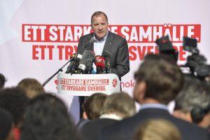 Шведският премиер Стефан Льовен, Швеция