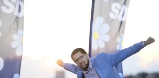 "Джими Акесон, Швеция, ""Шведските демократи"""
