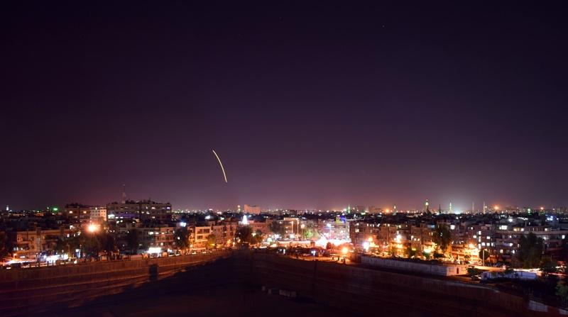 Дамаск, ракети, бомбардировка