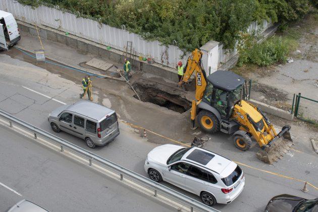Симеоновско шосе изкоп
