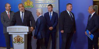Борисов, Цветанов, Сидеров, Каракачанов, Симеонов