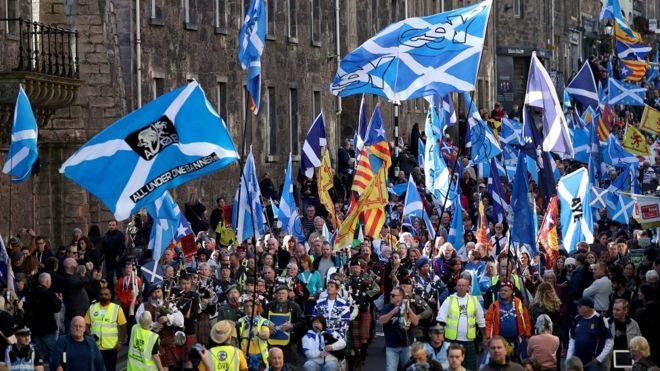 Единбург, Шотландия, независимост