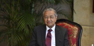 премиерът на Малайзия Махатхир Мохамад
