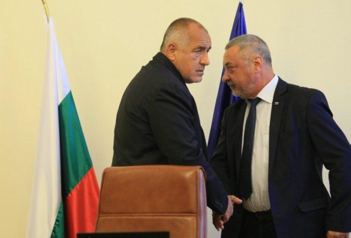 Бойко Борисов, Валери Симеонов