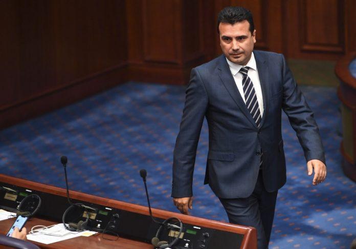 Зоран Заев, Македония