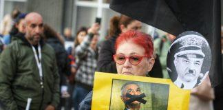 Майките на деца с увреждания, обидени, протест