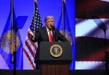 Доналд Тръмп, палаткови лагери