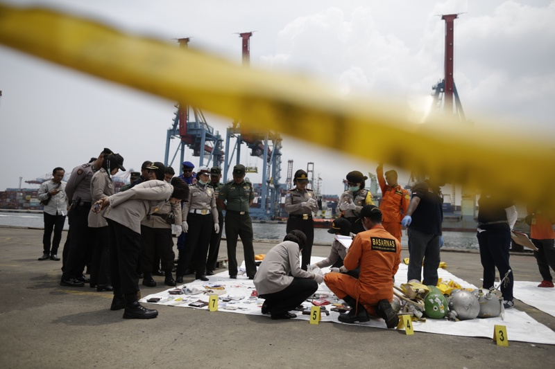 самолетна катастрофа, Индонезия