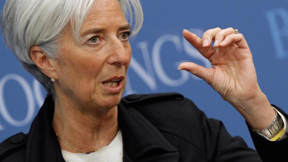 Лагард: Глобалният растеж е крехък и застрашен от криза