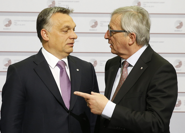 Орбан и Юнкер