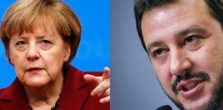 Ангела Меркел, Матео Салвини, Германия, Италия, бежанци