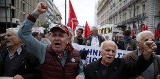 Гърция, стачка