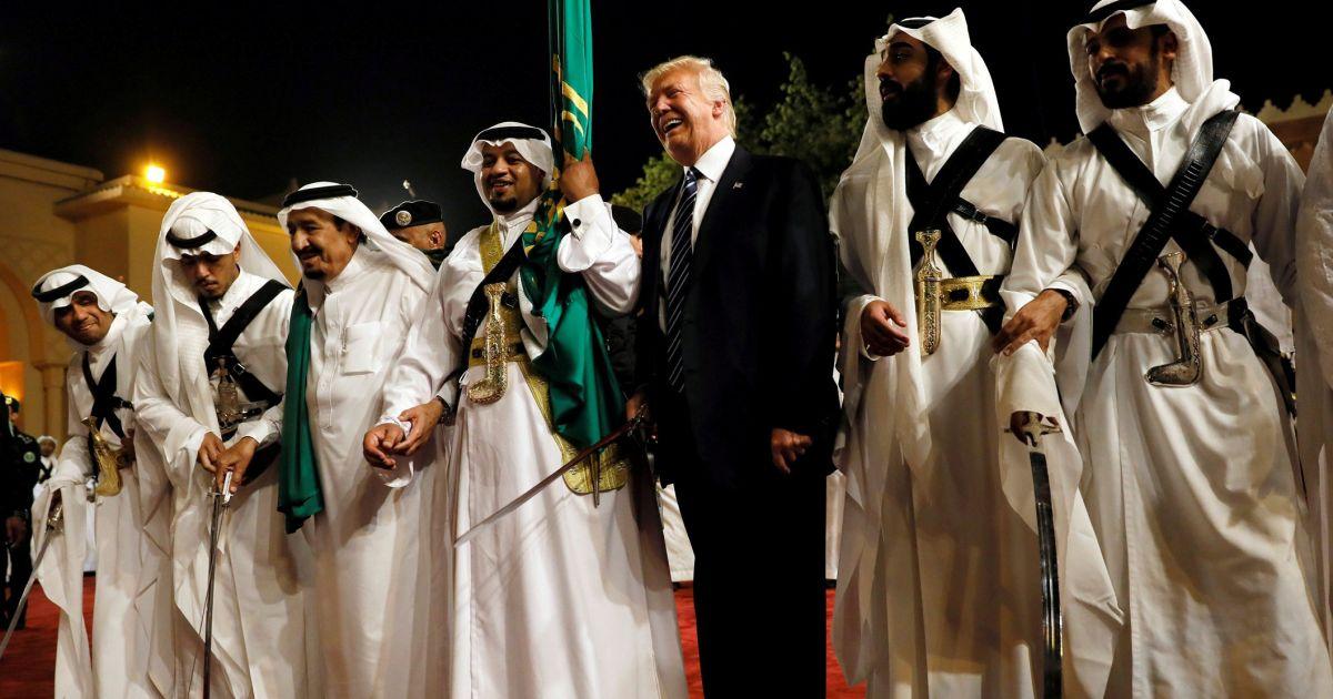 Тръмп, Саудитска Арабия