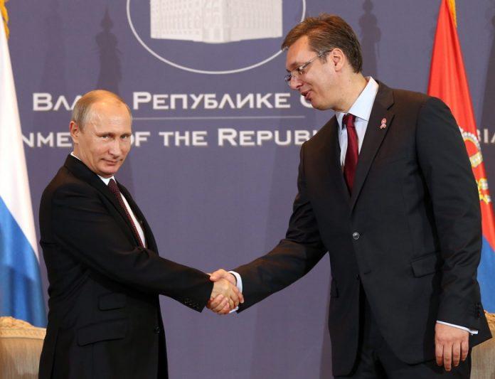 Владимир Путин, Александър Вучич
