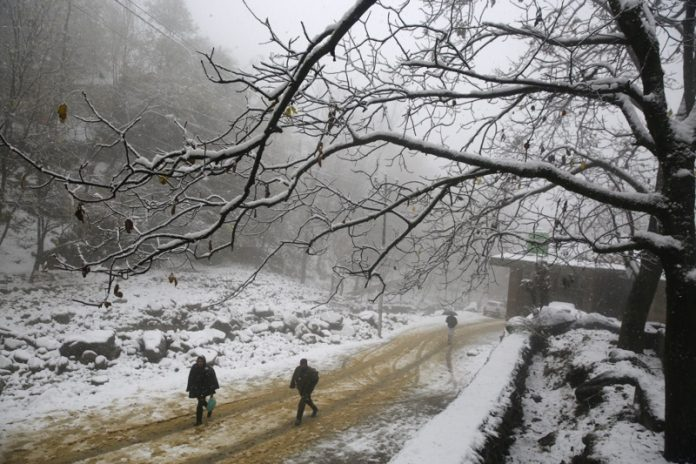 Сняг, Индия