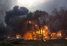 пожар, Калифорния