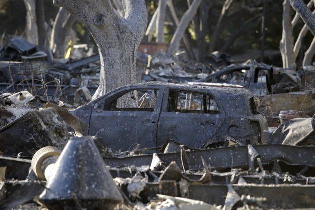 Калифорния, пожар