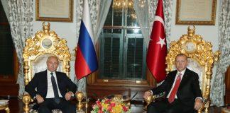 Ердоган, Путин