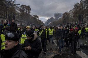 Протест, Франция, жълти жилетки